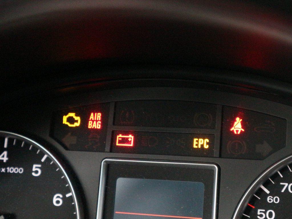 Storing op het dashboard