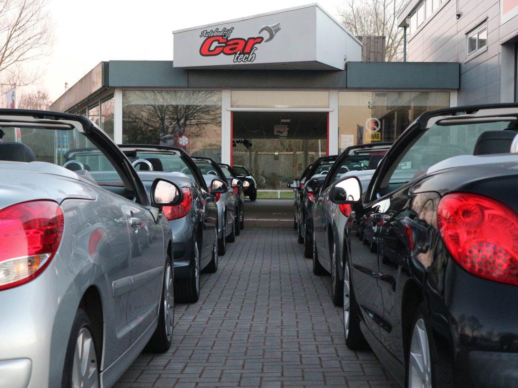 Cabrio rijden autobedrijf Cartech